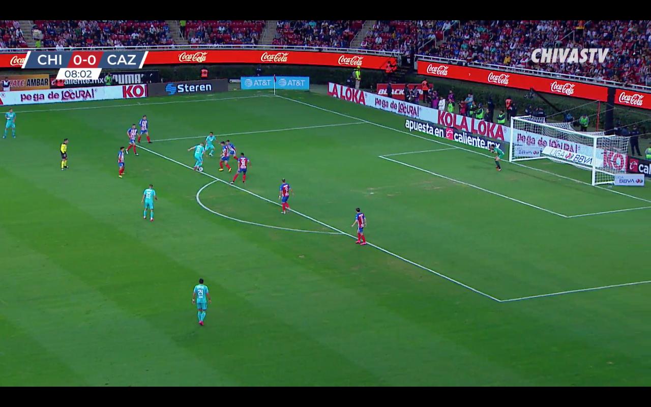 Gol de Jonathan Rodríguez. Chivas 0-1 Cruz Azul