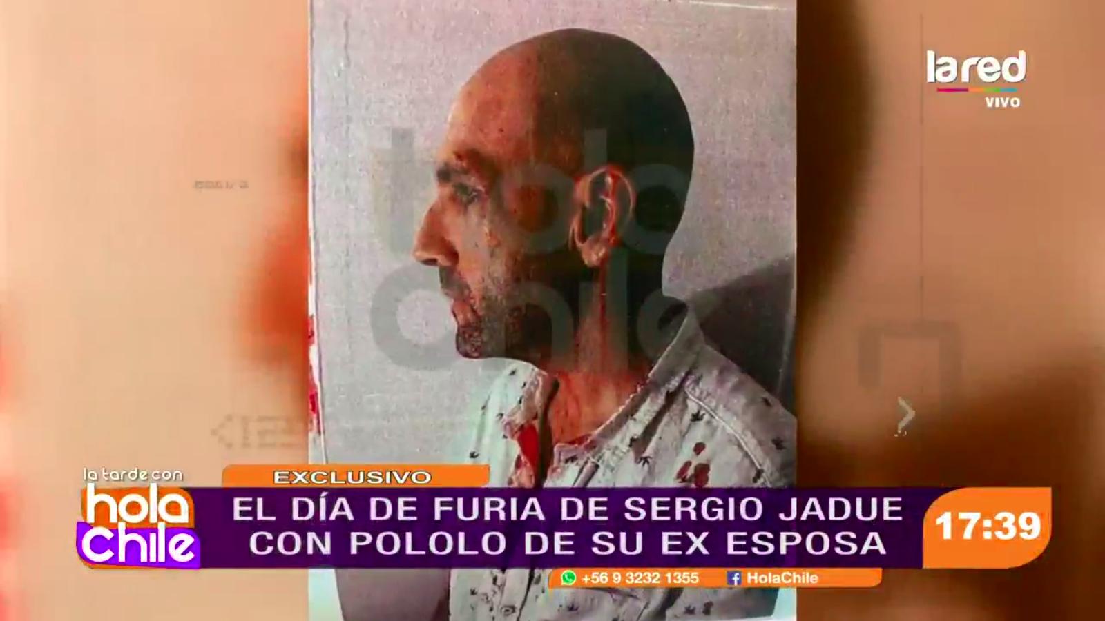 Hola Chile destapa imágenes del día de furia de Sergio Jadue en EEUU