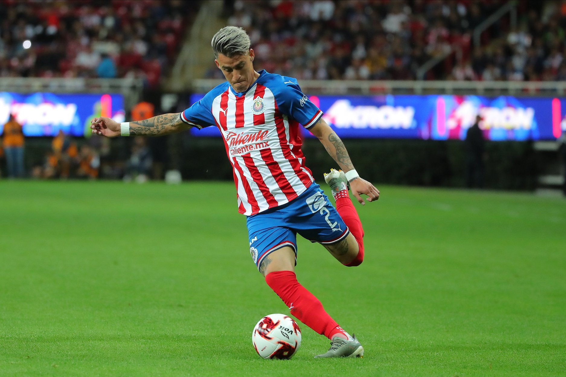 Video: Cristian Calderón anotó el descuento de Chivas | Chivas Pasión